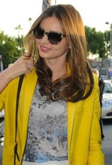 Look of the Day: Miranda Kerr Picks Up Groceries in Stella McCartney and Erdem