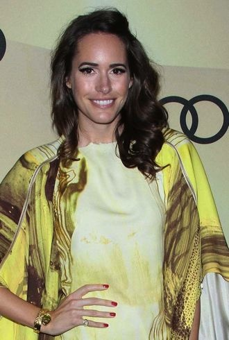 Louise Roe Audi Golden Globe 2013 Kick Off Cocktail Party Los Angeles cropped