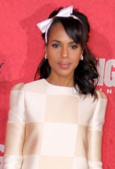 Look of the Day: Kerry Washington Looks Photo-Ready in Louis Vuitton