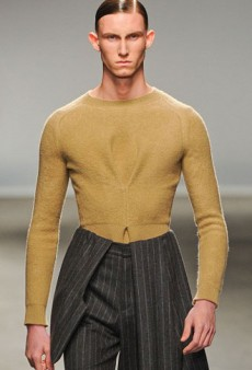 J.W. Anderson Blurs Gender Stereotypes for A/W 2013 at London Collection: Men