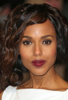 Get Date Ready with Kerry Washington's Wine-Toned Lip