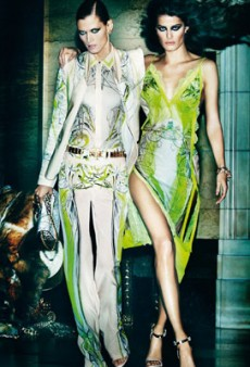 Malgosia Bela, Isabeli Fontana and Sui He Star in Roberto Cavalli's Spring 2013 Campaign (Forum Buzz)