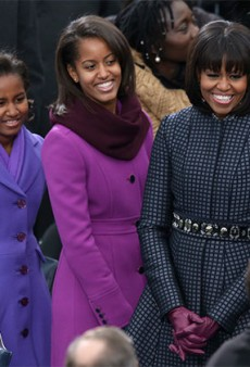 Michelle Obama's Thom Browne Inauguration Dress Was a Surprise to Thom Browne, Too