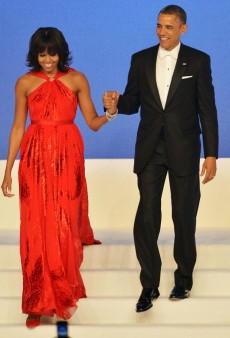 Look of the Day: Michelle Obama's Custom Red Jason Wu Gown