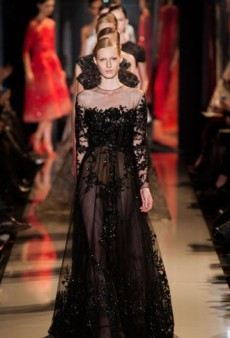 Elie Saab Haute Couture Spring 2013: An Ode to Delicateness