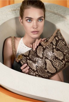 Stella McCartney Taps a Surprised-Looking Natalia Vodianova Once Again for Her Spring 2013 Ad Campaign (Forum Buzz)