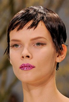From Neon to Nude, See the Best of Couture Beauty Spring 2013
