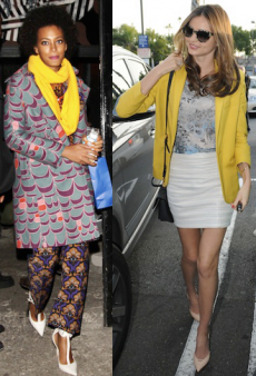 Slice of Citrus: Brighten Up Your Winter With Celeb-Inspired Yellow Looks