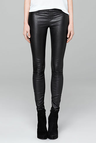 Helmut Lang leather leggings - forum buys