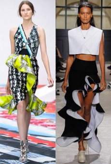 Spring 2013 Styles Notes: Oversized Ruffles