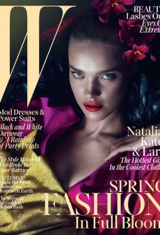 YES, YES, YES! Natalia Vodianova, Lara Stone and Kate Moss Cover W's March Issue (Forum Buzz)