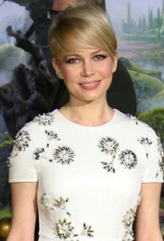 Look of the Day: Michelle Williams Hits the Yellow Brick Road in Prada