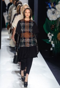 Mulberry Fall 2013 Runway Review