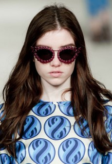 Backstage Beauty: House of Holland Fall 2013 with Hair Stylist Adam Reed