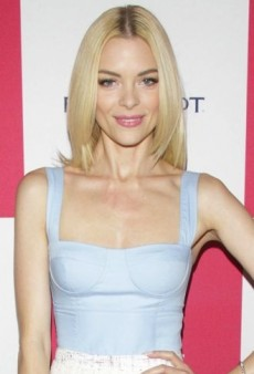 Look of the Day: Jaime King's Polished Peter Som Spring 2013 Dress