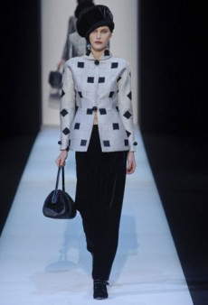 Giorgio Armani Fall 2013 Runway Review