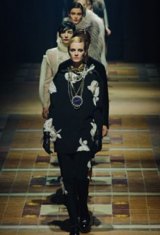Lanvin Fall 2013 Runway Review