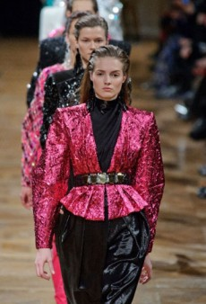 Balmain Fall 2013 Runway Review