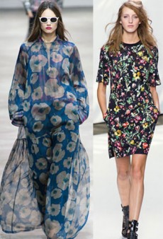 Spring Style Notes: The Modern Floral