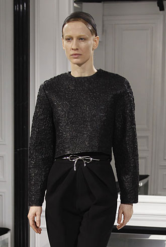 Natasa Vojnovic at Balenciaga Fall 2013