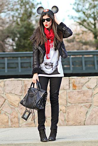 Fashion Chalet aka VivaciousCohen - forum member street style