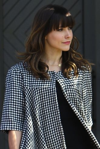 Sophia Bush leaving a hair salon Los Angeles cropped