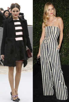 Celebrity Trendspotting: Stars in Stripes