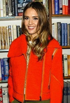 Look of the Day: Jessica Alba Signs Copies of Her Book in Fendi and Opening Ceremony