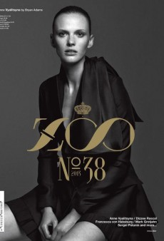 Anne Vyalitsyna Goes High Fashion on the Cover of Zoo (Forum Buzz)