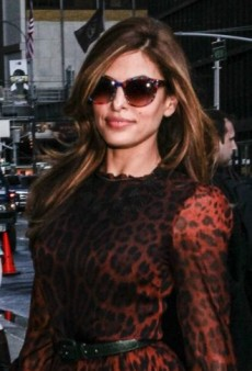 Look of the Day: Eva Mendes Shows Off Her Wild Side in Dolce & Gabbana