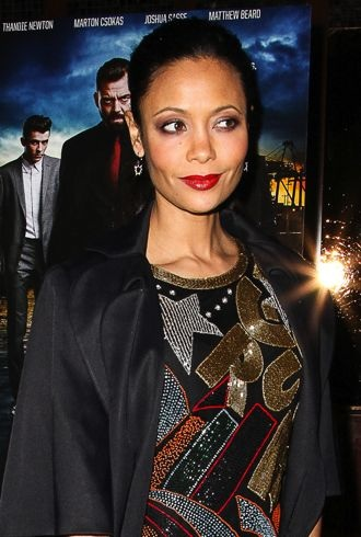 Thandie Newton premiere of Rogue New York City cropped