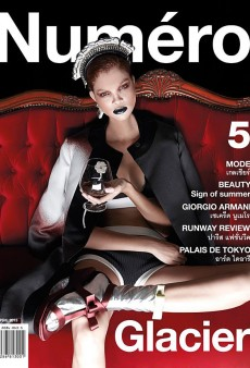 Numéro Thailand Embraces Diversity; Puts Carmen Solomons on the April 2013 Cover (Forum Buzz)