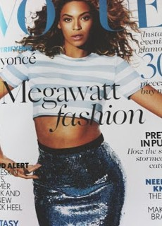 Here's Beyonce's Vogue UK May Issue Cover
