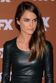Look of the Day: Keri Russell Brings Some Edge to the Red Carpet in The Row