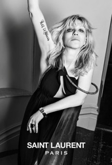 "Courtney Love for Saint Laurent: ""OMG What Did I Miss? Is It 1993 Again?"""