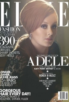 Here's Adele's Second ELLE Music Issue Cover