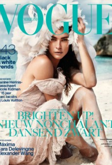 Erin Wasson Makes the May Cover of Vogue Netherlands (Forum Buzz)