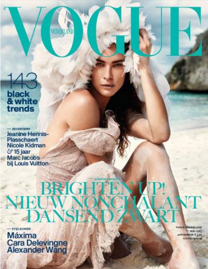 Vogue Netherlands May 2013 - Erin Wasson
