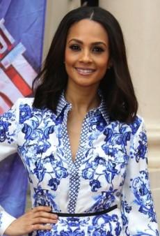 Look of the Day: Alesha Dixon Gets Set to Judge Britain's Talent in Roberto Cavalli