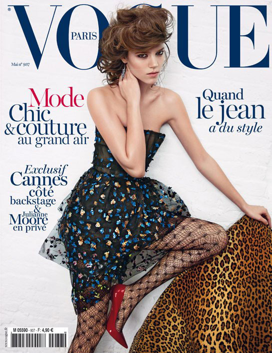 Vogue Paris May 2013 - Freja Beha Erichsen by Inez & Vinoodh