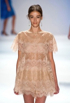 On the Spring Runways, Lace for Every Sense of Style