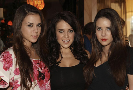 Real-life Bling Ring member Alexis Neiers, right