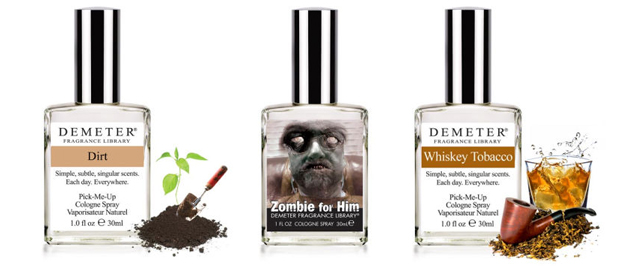 Dirt, Zombie and Whiskey fragrances for Dad.