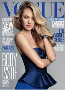 Sneak Peek: Candice Swanepoel Covers Vogue Australia's June 2013 Issue