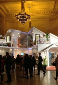 Target Builds Lifesize Dollhouse in Grand Central