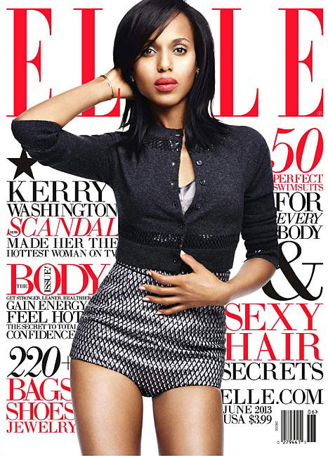 Elle June 2013 - Kerry Washington