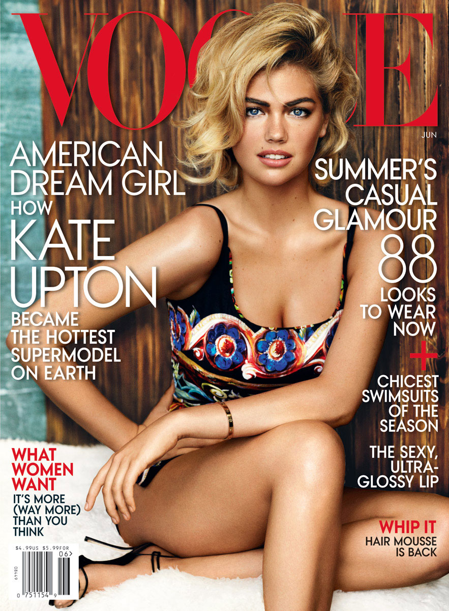 Kate Upton is American Vogue's June 'Dream Girl'