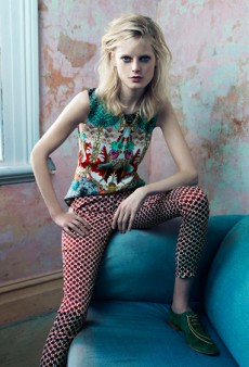 Hanne Gaby Odiele Wears Romance Was Born, Dion Lee and Ellery in Jasu's Latest Campaign