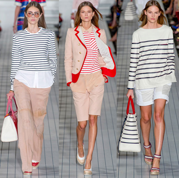 Tommy Hilfiger Spring 2013, via IMAXtree