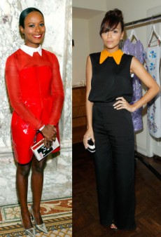Get the Celeb Look: Collar Contrast